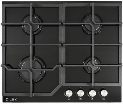 Газовая варочная поверхность Lex GVG 642 BL черный