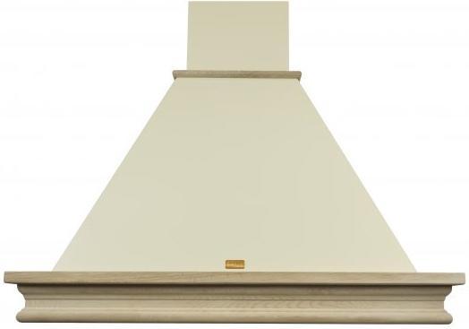 Вытяжка каминная Lex VERONA 900 cлоновая кость/бук неокрашенный управление: ползунковое (1 мотор) вытяжка встр lex hubble 600 ivory 60см 650куб сл кость
