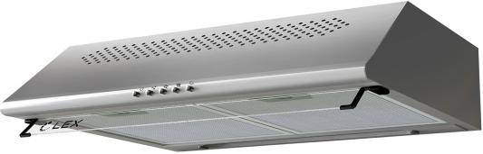 Вытяжка козырьковая Lex SIMPLE 2M 600 нержавеющая сталь управление: кнопочное (2 мотора) вытяжка lex simple 2m 600 white 280вт 600м3 ч 46дб 600х500х150мм 8кг