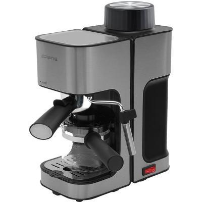 Кофеварка эспрессо Polaris PCM 4003AL 800Вт нержавеющая сталь кофеварка эспрессо polaris pcm 1530ae adore cappuccino 1350вт нержавеющая сталь черный