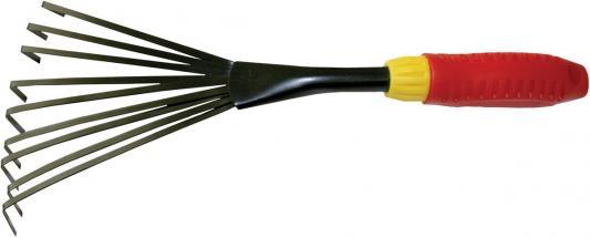 Грабельки FRUT 402231  веерные сталь эргономичная пластиковая ручка