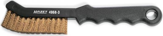 Кордщетка ручная HAZET 4968-3 латунная для тормозных суппортов трещотка hazet 863 1