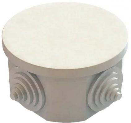 Коробка распаячная ТДМ SQ1401-0501 ОП D65х40мм крышка IP54 4вх. инд.штрихкод