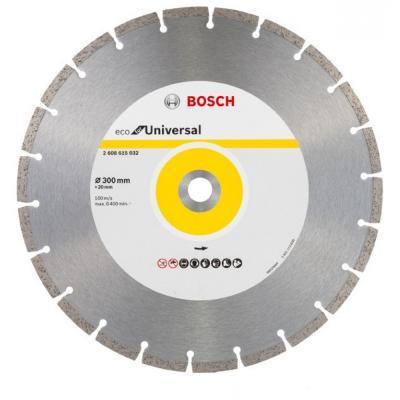 Алмазный диск BOSCH ECO Universal Ф300-20мм (2.608.615.032) по бетону