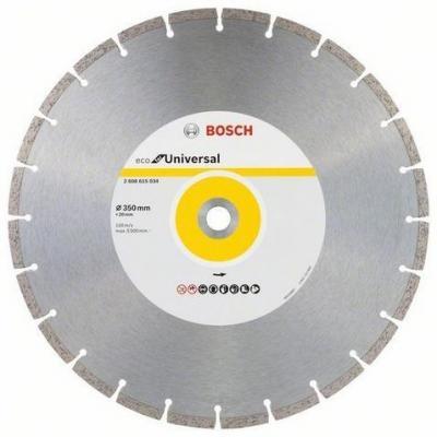 Алмазный диск BOSCH ECO Universal Ф350-20мм (2.608.615.034) по бетону