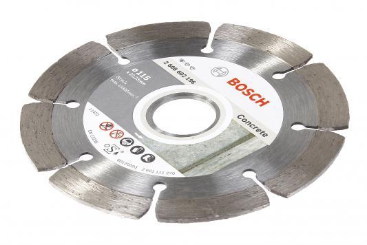 Диск алм. BOSCH Standard for Concrete 180x22,2 сегмент (2.608.602.199) 180 Х 22,2 сегмент