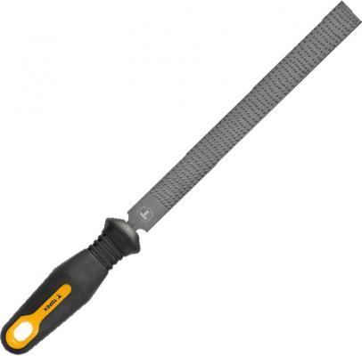 Рашпиль TOPEX 06A832 полукруглый 200мм боковые кусачки topex 160 мм 1000в 32d517
