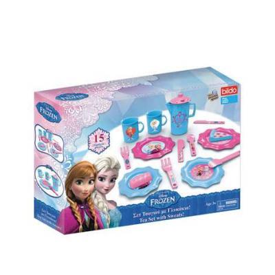 Игровой набор Bildo Холодное сердце 15 предметов игровой набор посуды для чая bildo холодное сердце 32 пр