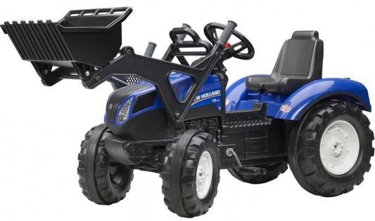 Каталка-самосвал Falk Трактор-экскаватор синий от 3 лет пластик FAL 3092D tomy трактор john deere 6830 с двойными колесами и фронтальным погрузчиком с 3 лет