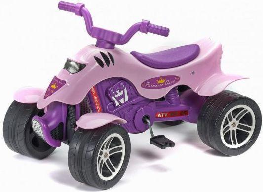 Каталка-квадроцикл Falk Принцесса лиловый от 3 лет пластик FAL608 каталка квадроцикл falk принцесса лиловый от 3 лет пластик fal608