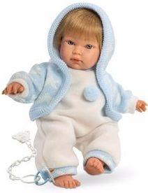 Кукла Llorens Кукуй 30 см со звуком L 30001 кукла llorens мартина l 54020