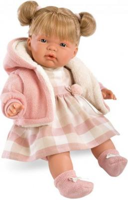 Кукла Llorens Люсия 38 см плачущая 38314 кукла llorens елена 35 см 53518