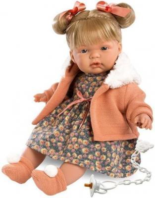 Кукла Жоэль 38 см со звуком карапуз кукла рапунцель со светящимся амулетом 37 см со звуком принцессы дисней карапуз