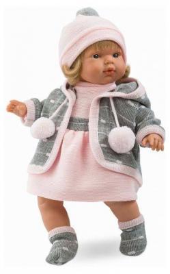 Кукла Лола 38 см со звуком карапуз кукла рапунцель со светящимся амулетом 37 см со звуком принцессы дисней карапуз