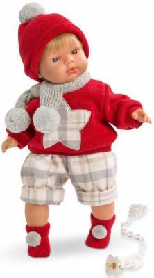 Кукла Саша 38 см со звуком карапуз кукла рапунцель со светящимся амулетом 37 см со звуком принцессы дисней карапуз