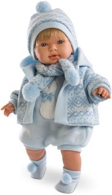 Кукла Мигуэль 42 см со звуком llorens кукла 48 см llorens