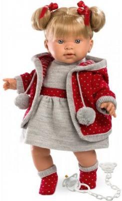 Кукла Llorens Пиппа 42 см со звуком 42254 кукла пиппа 42 см со звуком