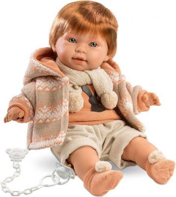 Кукла Кристиан 42 см со звуком llorens кукла 48 см llorens