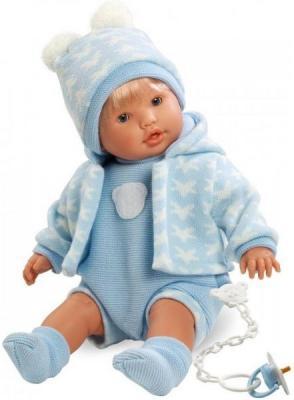 Кукла Llorens Нико 48 см плачущая 48229 кукла llorens елена 35 см 53518