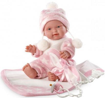 Кукла Роза 26 см с одеялом llorens кукла 48 см llorens