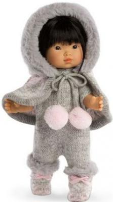Кукла Валерия азиатка в сером 28 см llorens кукла валерия 28 см llorens