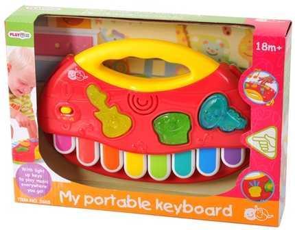 Развивающая игрушка Мое первое пианино playgo развивающая игрушка мое первое пианино цвет желтый