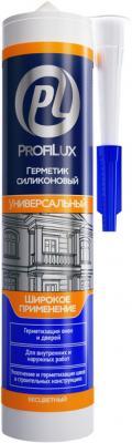 Герметик силиконовый PROFILUX CSS684TR универсальный 300мл бесцветный цены