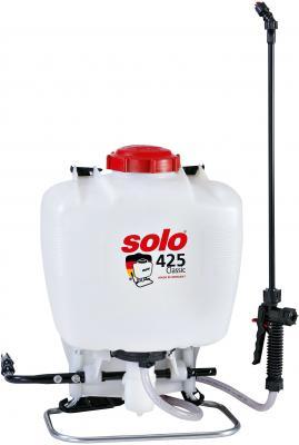 Ранцевый опрыскиватель SOLO 425 Classic 15 л. опрыскиватель компрессионный kwazar venus pro 360 цвет белый голубой 1 5 л