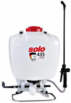 Ранцевый опрыскиватель SOLO 435 Classic 20 л. опрыскиватель компрессионный kwazar venus pro 360 цвет белый голубой 1 5 л