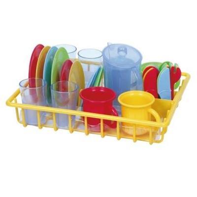 Фото - Игровой набор PLAYGO сушка с посудой 30 предметов игровой кухонный набор раковина с сушилкой и посудой 20 предметов