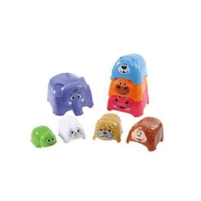 Игровой набор PLAYGO Формочки-животные 8 предметов playgo набор парикмахера playgo