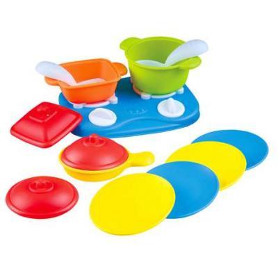 Фото - Игровой набор PLAYGO Плита с посудой 13 предметов игровой кухонный набор раковина с сушилкой и посудой 20 предметов