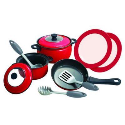 Игровой набор PLAYGO Игровой набор металлической посуды 10 предметов набор посуды rainstahl 8 предметов 0716bh