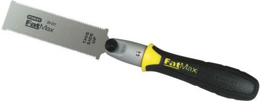 все цены на Мини-ножовка STANLEY FatMax 0-20-331 чисторежущая с полотном с двумя режущими кромками в интернете