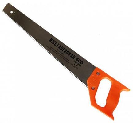 Ножовка ИЖСТАЛЬ 030107-040 400мм шаг 5мм по дереву с пластмассовой ручкой цепочка victorinox 4 1815 b1 серебристый 400мм d1 5мм блистер