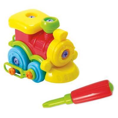 Игровой набор PLAYGO Юный механик с паровозиком набор юный механик с самолетом и паровозом