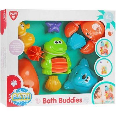 Набор игрушек для ванны PLAYGO Друзья развивающий центр playgo для самых маленьких