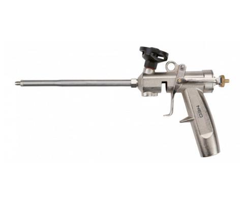 Пистолет для монтажной пены NEO 61-011 с латунной головкой пистолет для герметиков neo 61 003