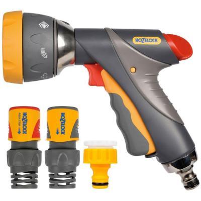 цена на Начальный набор для полива HOZELOCK 2373 Multi Spray Pro Пистолет-распылитель, коннекторы 6 шт.