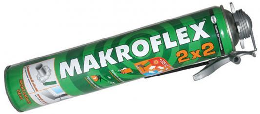 Пена монтажная MAKROFLEX 2х2 проф. (0.75л) всесезонная пена makroflex 2050726 всесезонная пистолетная 750мл