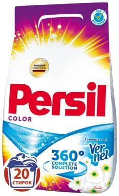 Стиральный порошок PERSIL Колор - Свежесть вернеля 3кг 2226580 стиральный порошок колор persil 3 кг