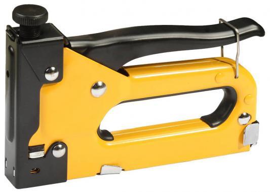 Степлер FIT 32152  скобы 4-14мм тип 140, гвозди 14мм тип 300 и 500, металлический