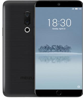Смартфон Meizu 15 64 Гб черный смартфон htc u ultra 64 гб белый 99halu071 00