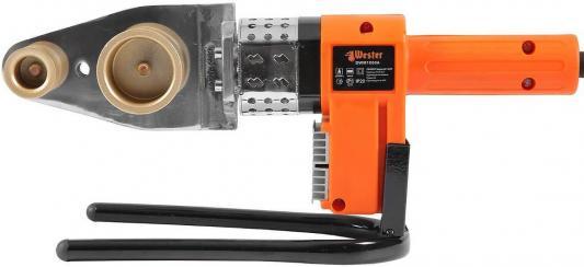 Аппарат для сварки ПП труб WESTER DWM1000A 1000 Вт, с 6-ю насадками аппарат wester dwm1500 для пластиковых труб