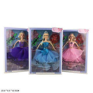 Кукла Принцесса 29см, 2 аксесс., в ассорт. куклы disney princess модная кукла принцесса в в юбке с проявляющимся принтом в ассорт