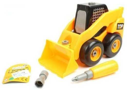 Конструктор-скрутка Наша Игрушка Трактор 42378 конструктор скрутка наша игрушка мотоцикл 6700a 1