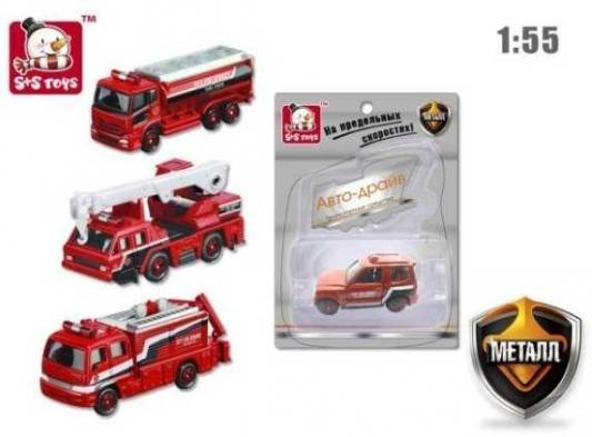 Пожарная машина Наша Игрушка Пожарная бригада красный 611181 игрушка технопарк пожарная машина 251a1 r