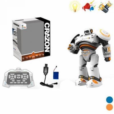 Робот радиоуправляемый Наша Игрушка Робот на радиоуправлении двигающийся со звуком 200056993 игрушка со звуком amy carol 47147856228