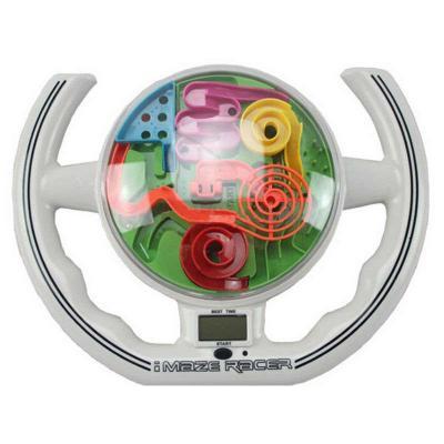 Купить Игра-головоломка Kakadu Гоночный лабиринт с дисплеем от 6 лет, Головоломки для детей
