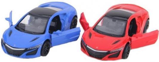Автомобиль Пламенный мотор Acura NSX 1:38 разноцветный 870229